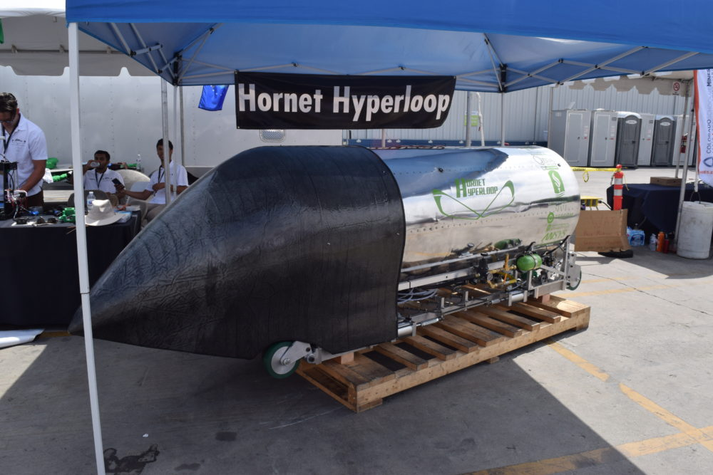Hornet Hyperloop Pod